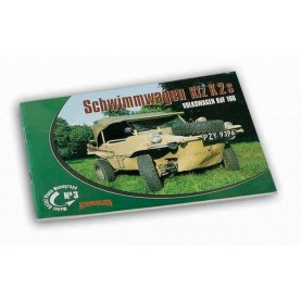 Model Detail Photo Monograph No. 03 - Schwimmwagen Kfz. K2 s Volkswagen KdF 166