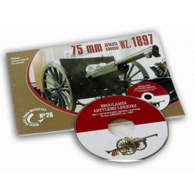 Model Detail Photo Monograph No. 26 - 75mm wz. 1897 cannon (with CD)