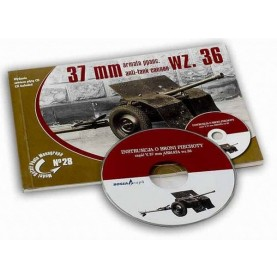 Model Detail Photo Monograph No. 28 - 37mm Anti-tank cannon wz.36 (with CD)