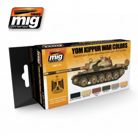 A.MIG-7113 YOM KIPPUR WAR COLORS SET