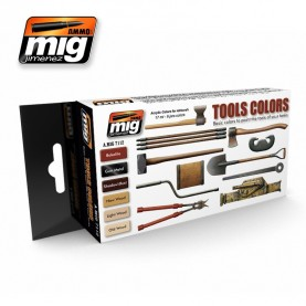 A.MIG-7112 TOOLS COLORS SET
